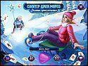 Бесплатная игра Солитер Джек Мороз. Зимние приключения скриншот 1